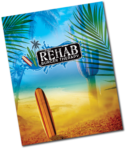 The Official Rehab Burger Therapy Menu page link